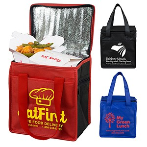 """Super Frosty"" Insulated Cooler Lunch Tote Bag"